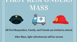 First Responders Mass Invitation