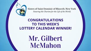 Lottery Calendar Winner - July 5, 2021