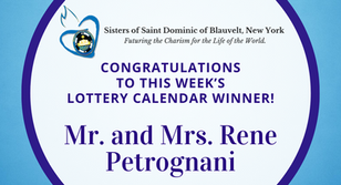 Lottery Calendar Winner - September 14, 2020