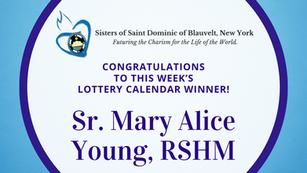 Lottery Calendar Winner Announcement for January 6, 2020
