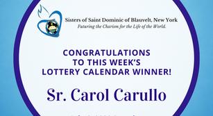 Lottery Calendar Winner - July 6, 2020