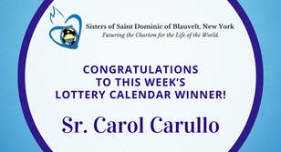 Lottery Calendar Winner - July 6, 2020