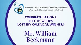 Lottery Calendar Winner - March 17, 2021