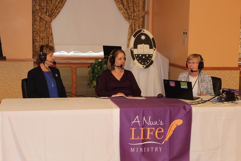 Sisters Terry Rickard, Jennifer Schaaf, and Maxine Kollasch