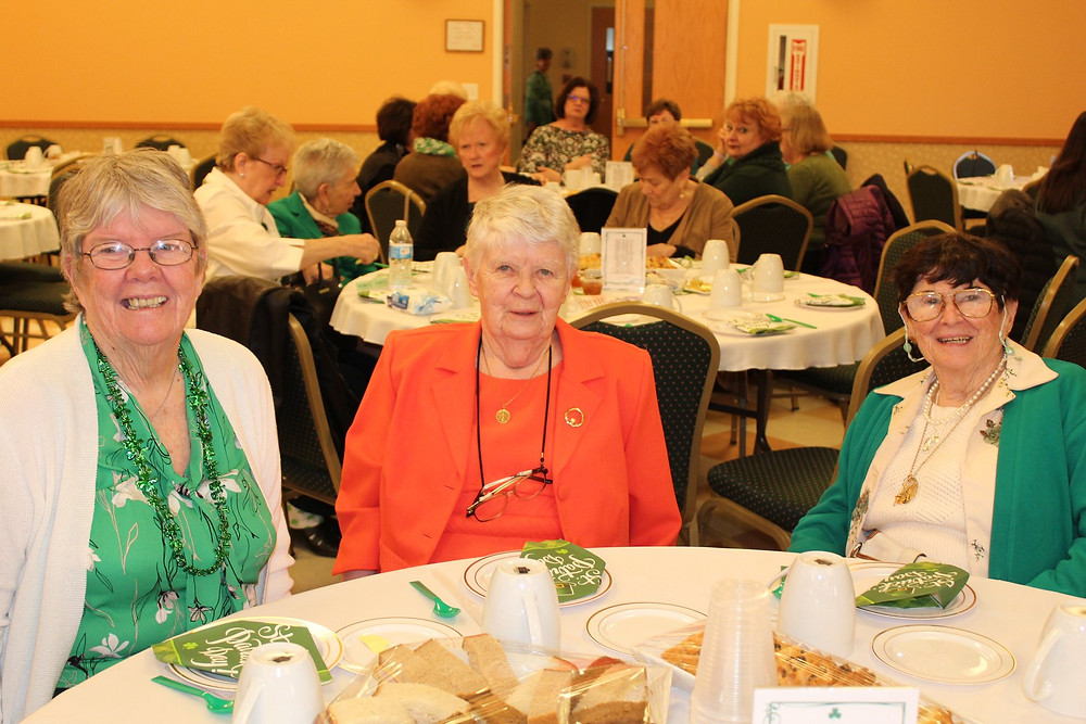 Sisters Maggie McDermott, Mechtilde Doherty, and Bernadette Doherty