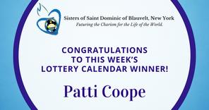 Lottery Calendar Winner - September 3, 2020