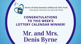 Lottery Calendar Winner - June 29, 2020