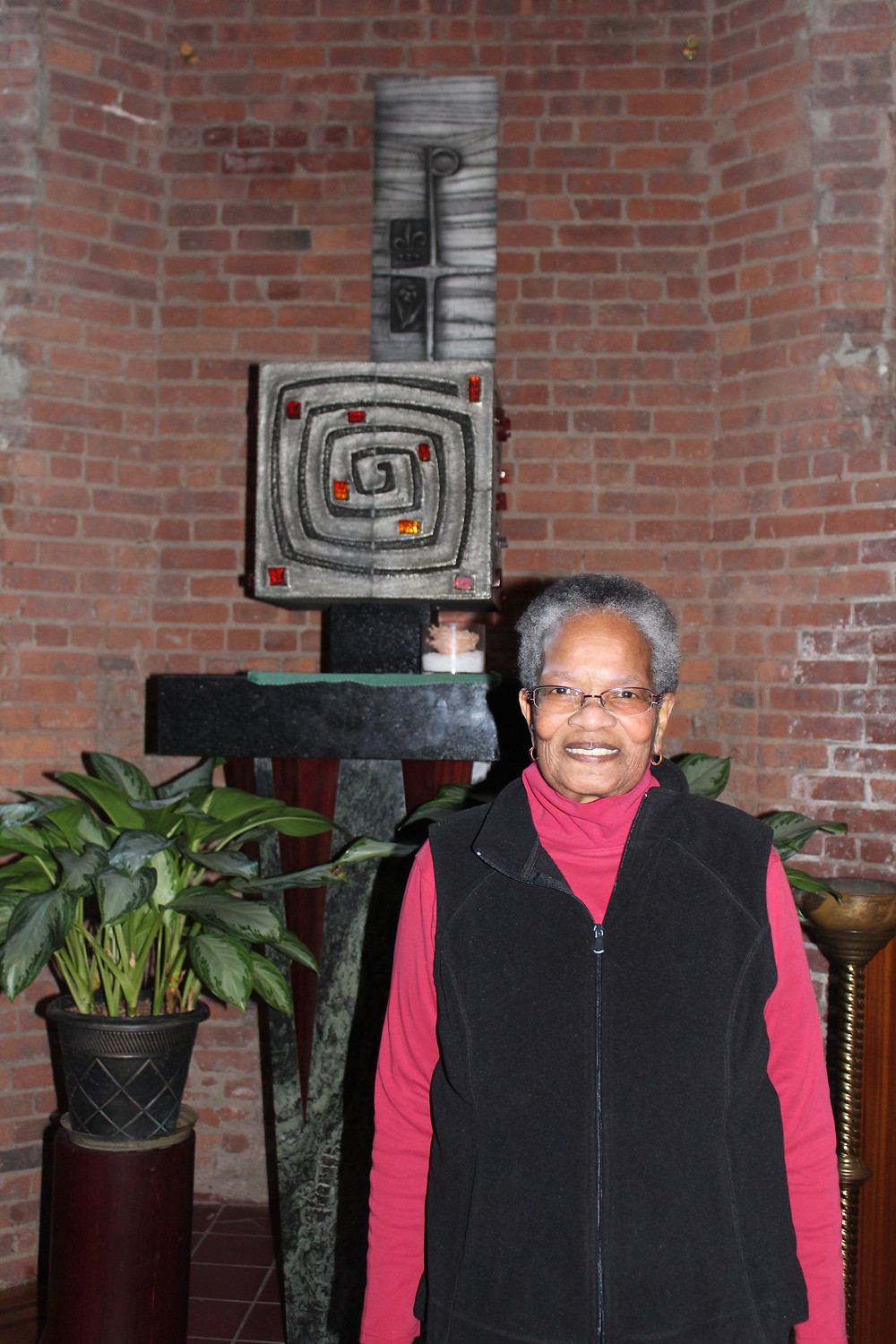Sister Dorothy Hall at Saint Charles Borromeo Resurrection and All Saints in Harlem
