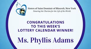 Lottery Calendar Winner - August 10, 2020