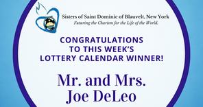 Lottery Calendar Winner - September 7, 2020