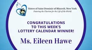 Lottery Calendar Winner - August 15, 2020