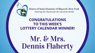Lottery Calendar Winner - February 1, 2021