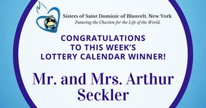 Lottery Calendar Winner - September 21, 2020