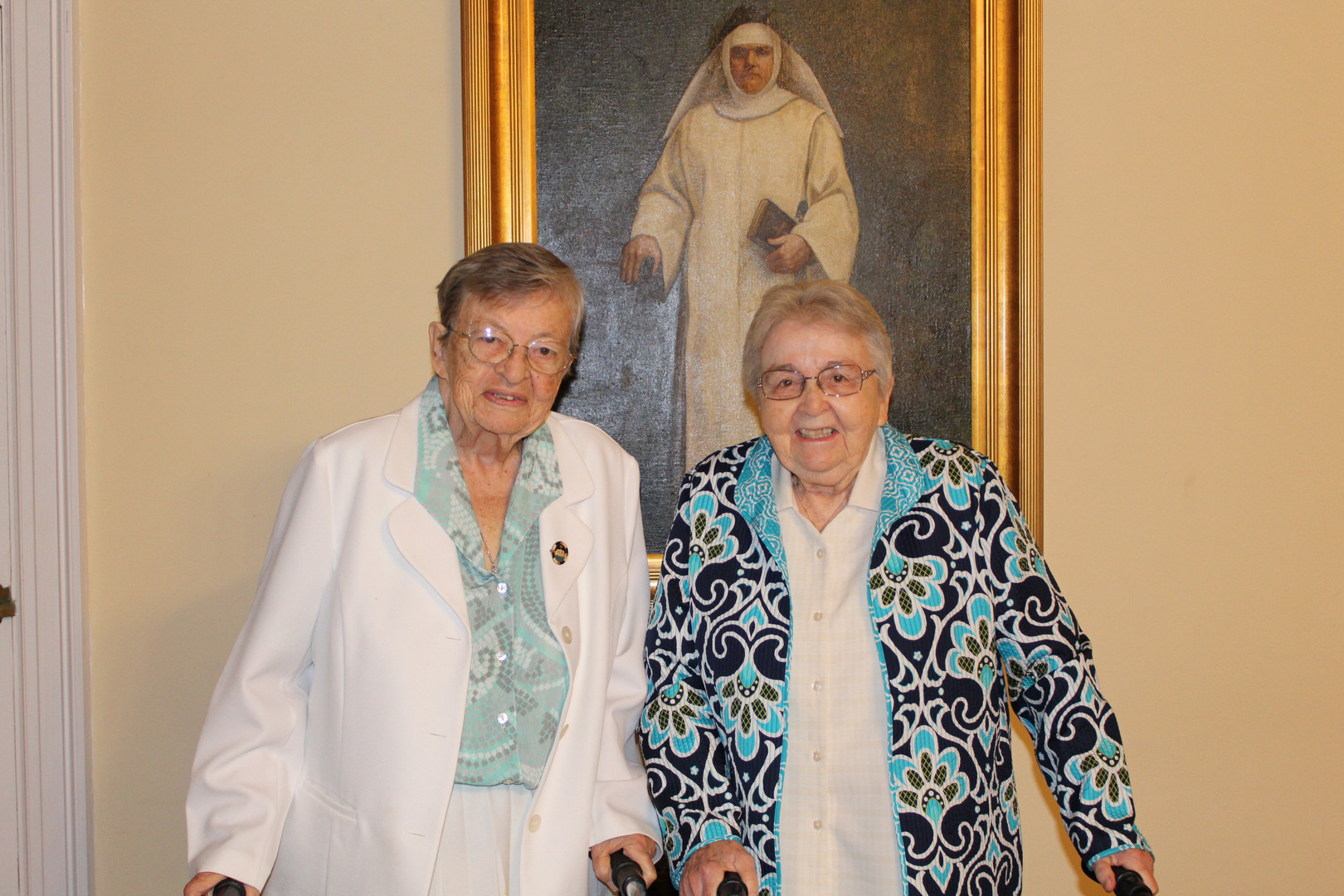 Sisters Molly Dower and Theresa Lynch