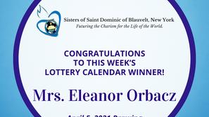 Lottery Calendar Winner - April 5, 2021