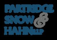 CMYK Stacked - Partridge Snow  Hahn LLP-