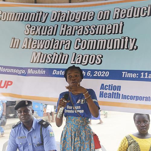 Advocacy Meeting in Mushin, Lagos