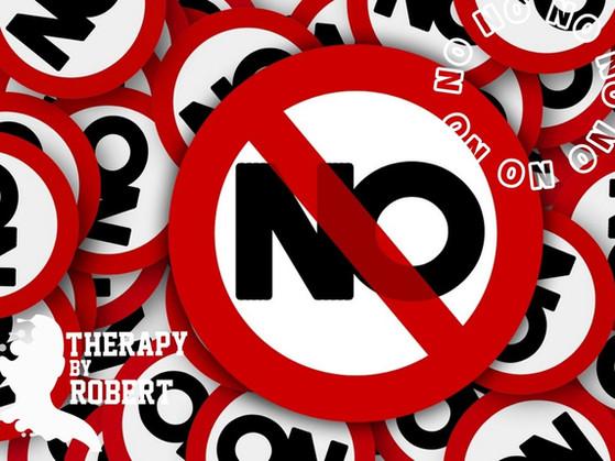Say It After Me..... No, No, No, No, No