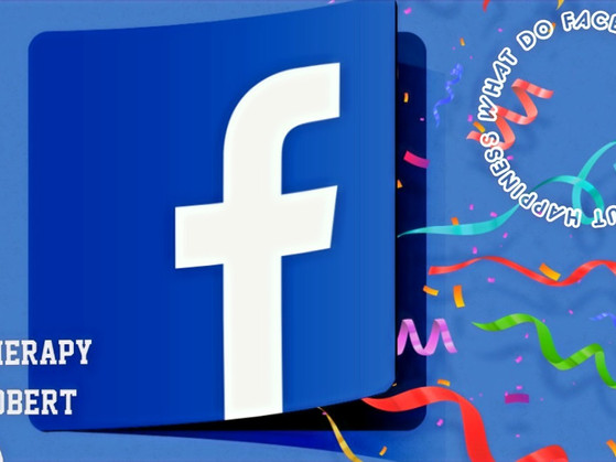 What Do Facebookers Say About Happiness?