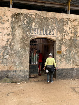 Entrance to Condemned Prisoners' Cells