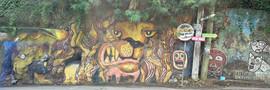Mural on the Roadside