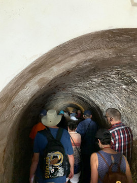 Going to Prison in Castillo de San Cristobal