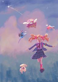 Monica Pink Pet Shrink