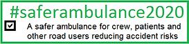 #saferambulance2020 logo