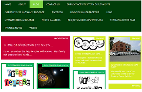 image of wordpress site