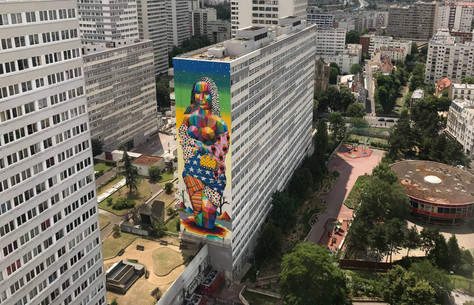The New Gioconda by OKUDA