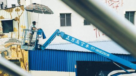 ARLIN GRAFF Completed Mural in Taiwan