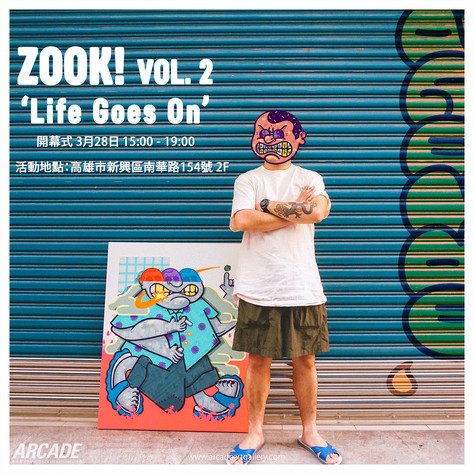 """ZOOK! VOL2.; Life goes on''"