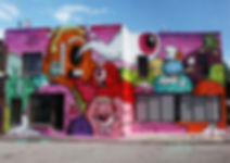 BUFF MONSTER, BANKSY, Buff Monster, street art, new york, ice cream, pink,melty, punk