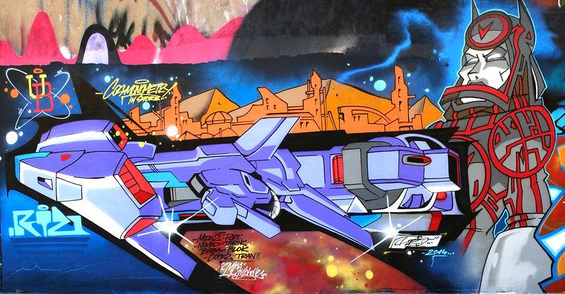 PRO 176, pro 76, graffiti, france, spain, futur, spray, ub crew