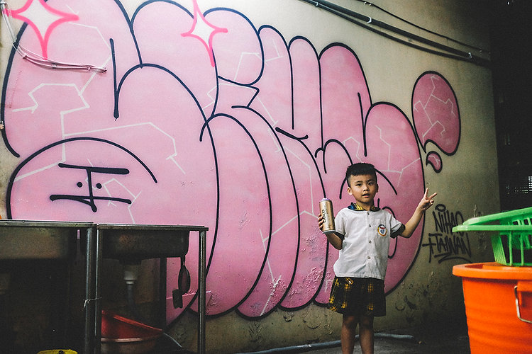 SLIKS, GRAFFITI, BRAZIL, TAIWAN, STREET ART
