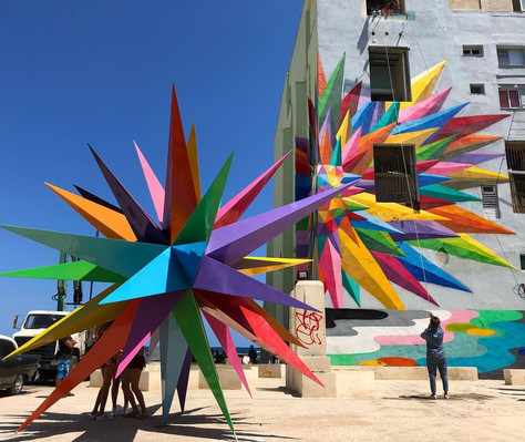 OKUDA for The Bienal de La Havana, Cuba 2019