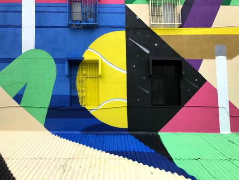 Spanish Artist MURONE in Kaohsiung Taiwan