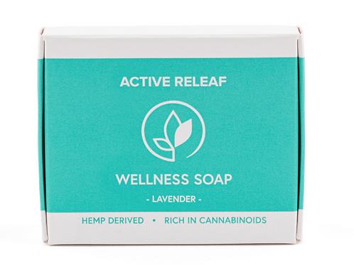 WELLNESS SOAP – 30MG CBD – LAVENDER