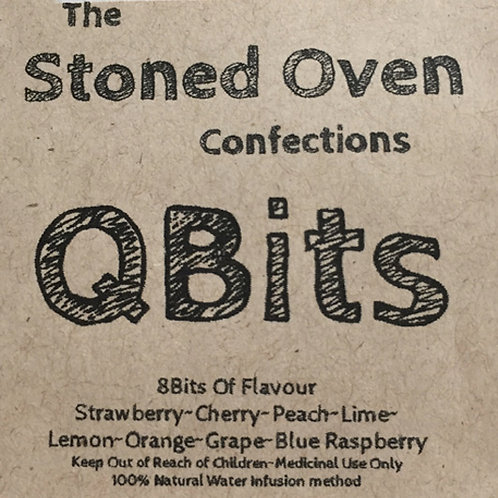 QBits by The Stoned Oven Confections - 100mg