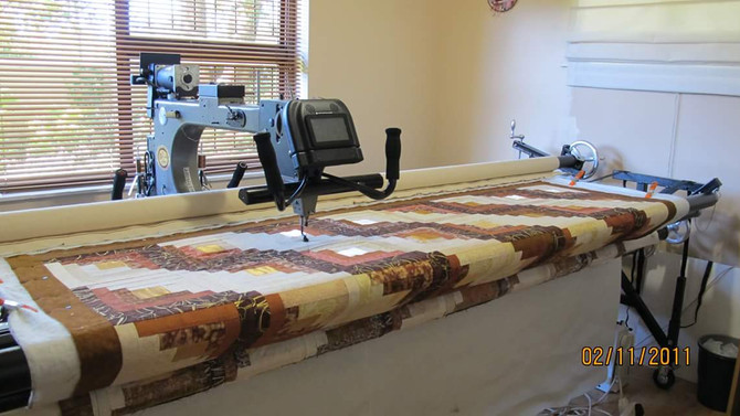 The species called: Long-arm Quilter