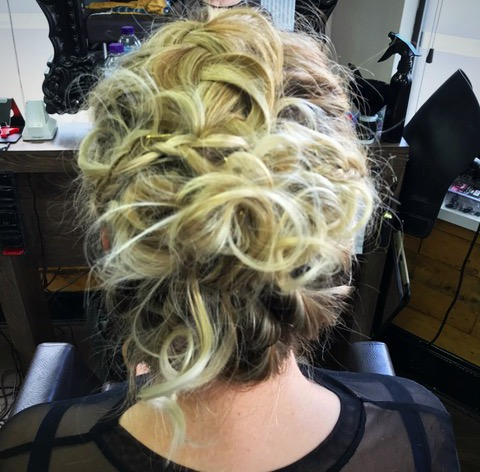 Hair Up - Wedding Guest