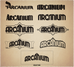 Design talk - Arcanium Logo creation process