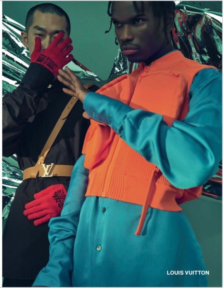 Darius for Louis Vuitton