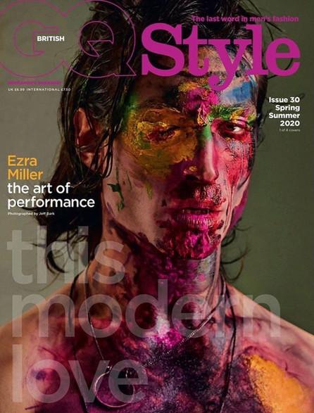 GQ Magazine Ezra Miller cover