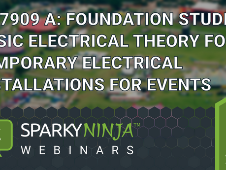 On-Line Training - Basic Electrical Theory, Foundation Studies.
