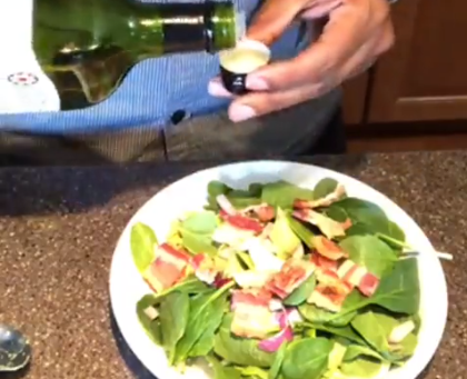 A Keto Twist On The Traditional Cobb Salad