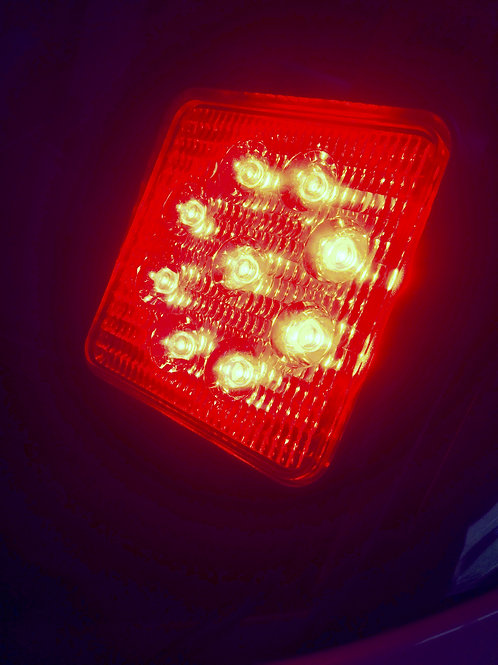Car Mounted Red LED Beekeeper Light