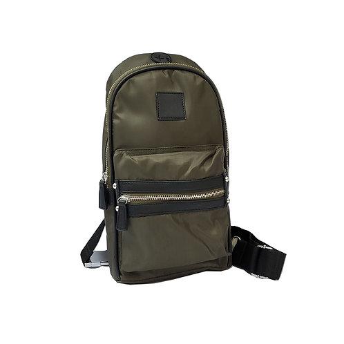 Formal nylon sling bag