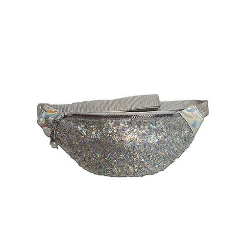 Hologram sequin bum bag