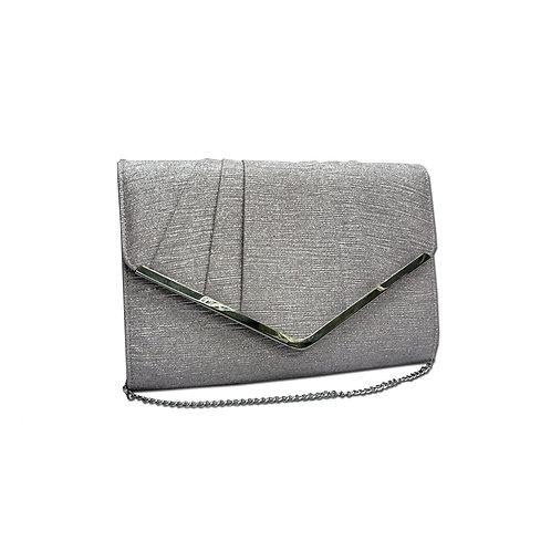 Woven clutch bag